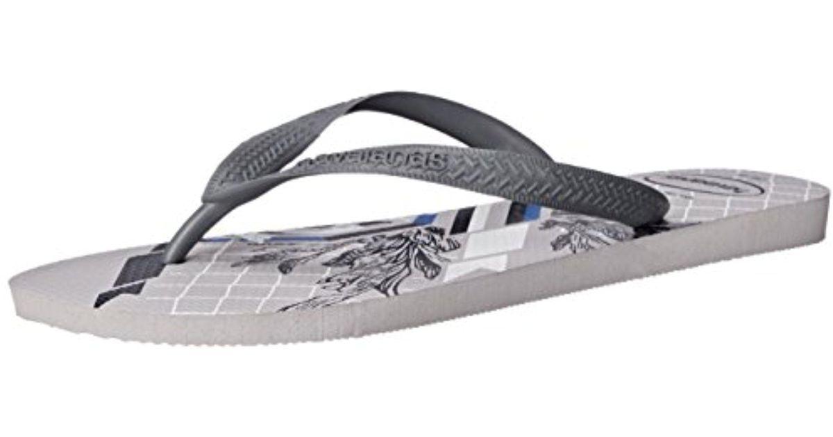 88fc197f717a Lyst - Havaianas Bravo Sandal Flip-flop in Gray for Men