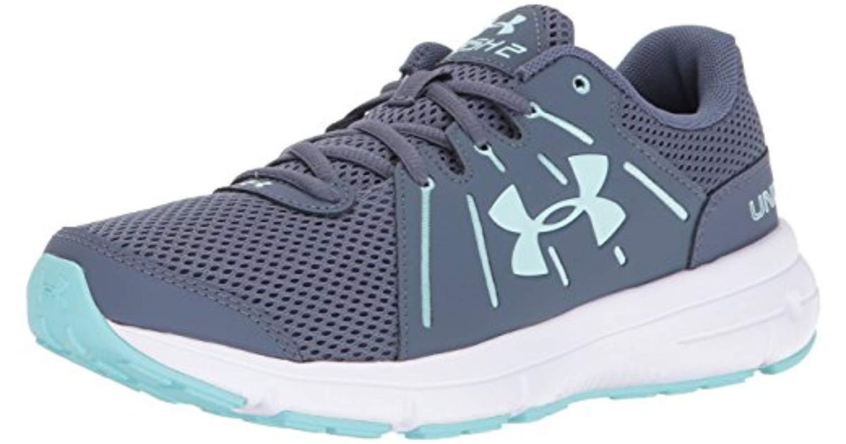 newest 6fb29 248c0 Under Armour - Gray Ua W Dash Rn 2 Running Shoes - Lyst