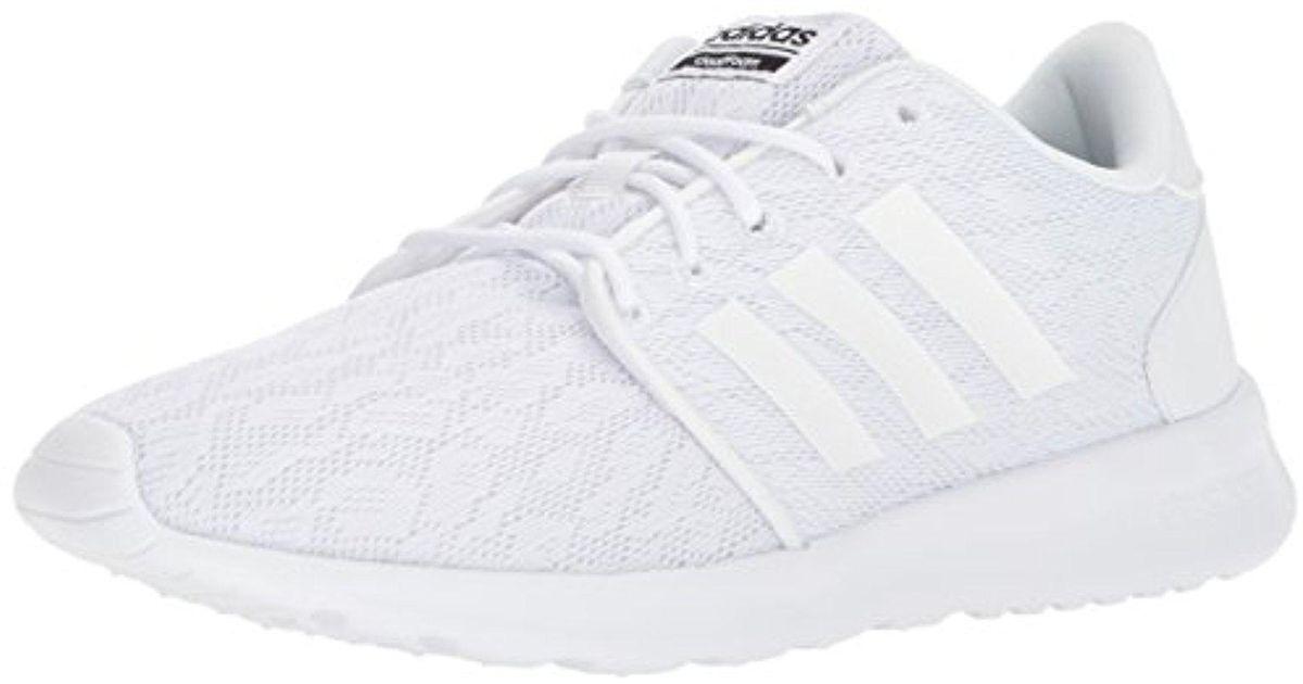 22cfaa43c13729 Lyst - adidas Cf Qt Racer W Sneaker in White for Men