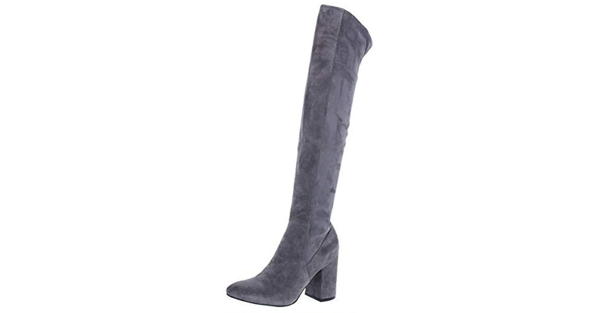 bd8ee9610c1 Lyst - Cole Haan Darla Otk Over The Over The Knee Boot in Gray - Save 68%