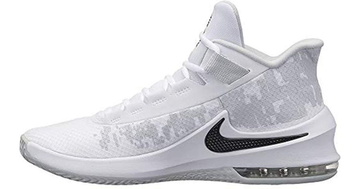 new style 4bb5a fe474 ... get nike air max infuriate 2 mid fitness shoes in white for men lyst  c58e3 b152c