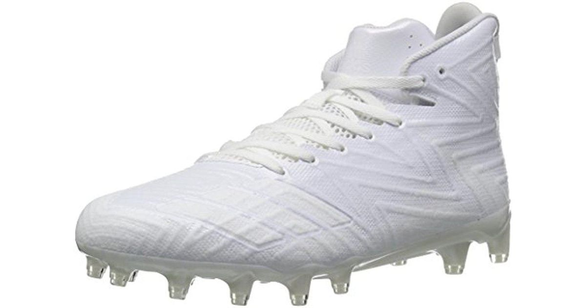 b4f512dfb Lyst - adidas Originals Freak X Carbon Mid Football Shoe in White for Men