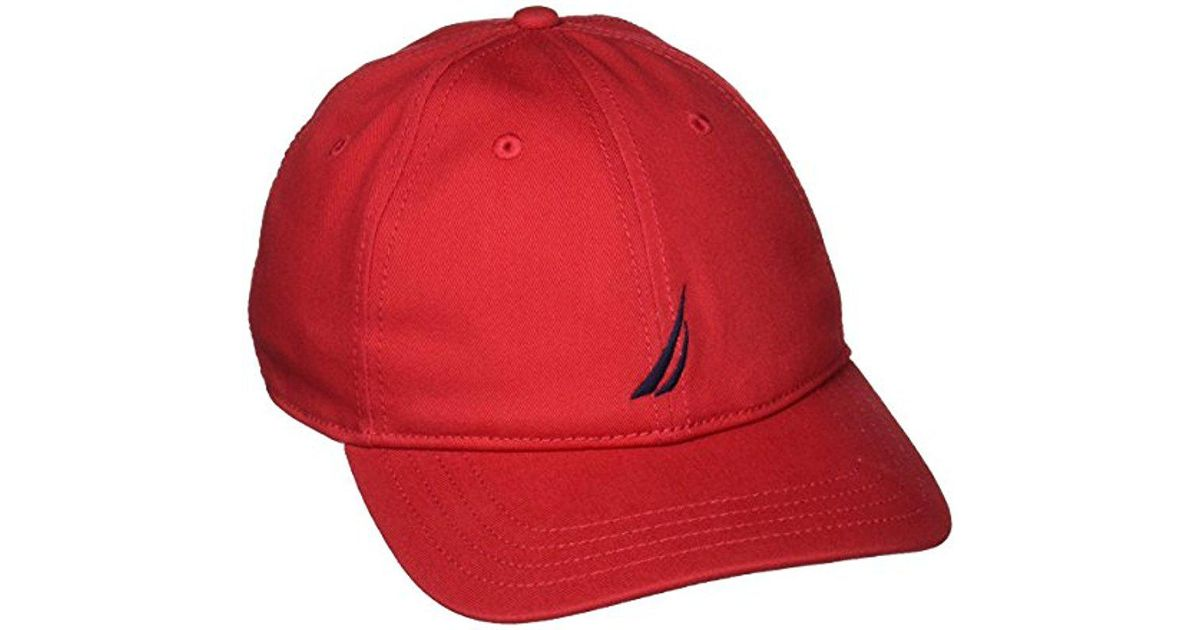 Lyst - Nautica J-class Hat in Red for Men - Save 15% 64365a0d8d7