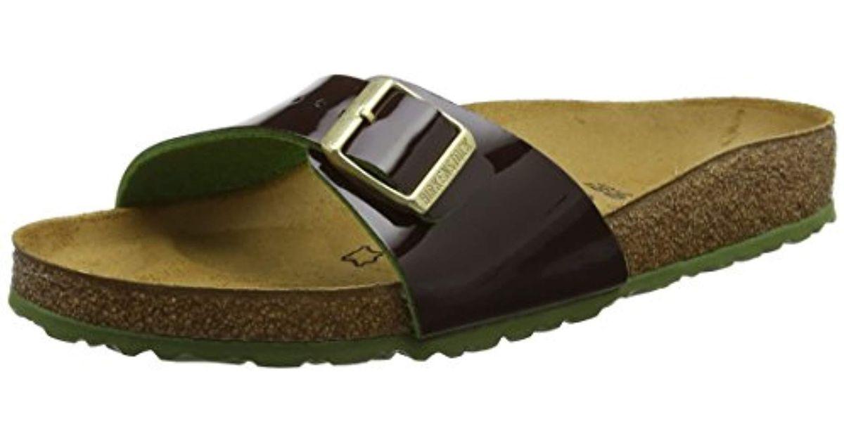 f7cf8782e8fd Birkenstock  s Mayari Birko-flor Toe Post Sandals in Green - Lyst