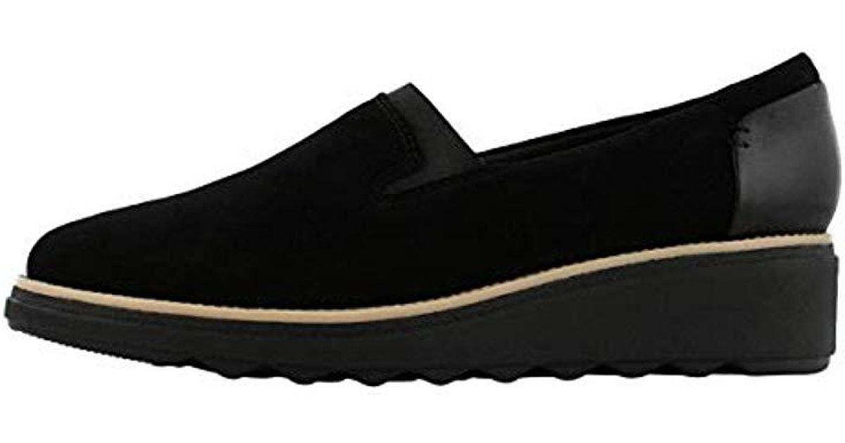 b4f72d02e95 Lyst - Clarks Sharon Dolly Loafer in Black - Save 17%