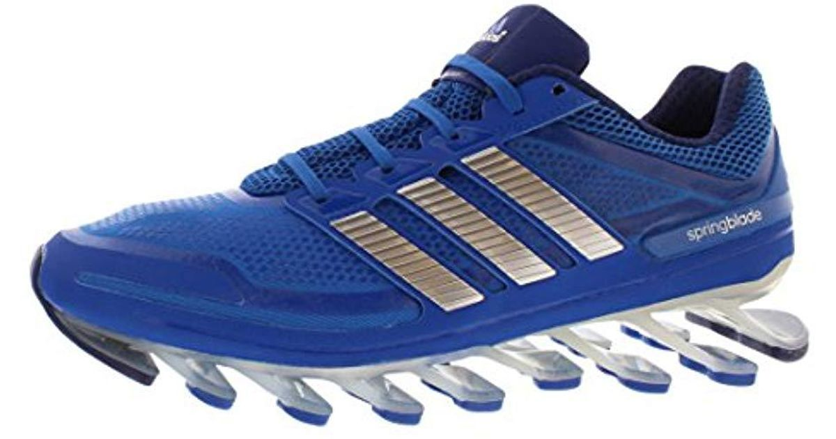 detailed look 8ab95 b8ad3 Adidas - Blue Springblade Running Shoe for Men - Lyst