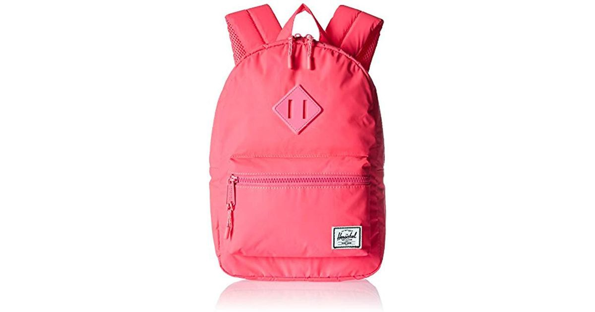 9fdfb98fc12 Lyst - Herschel Supply Co. Heritage Kids Children s Backpack in Pink
