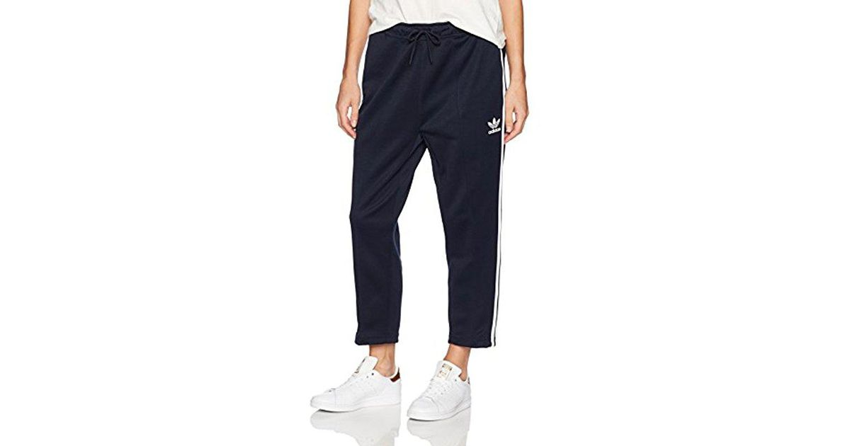 adidas Originals Superstar Relax Crop Sweatpants Black New