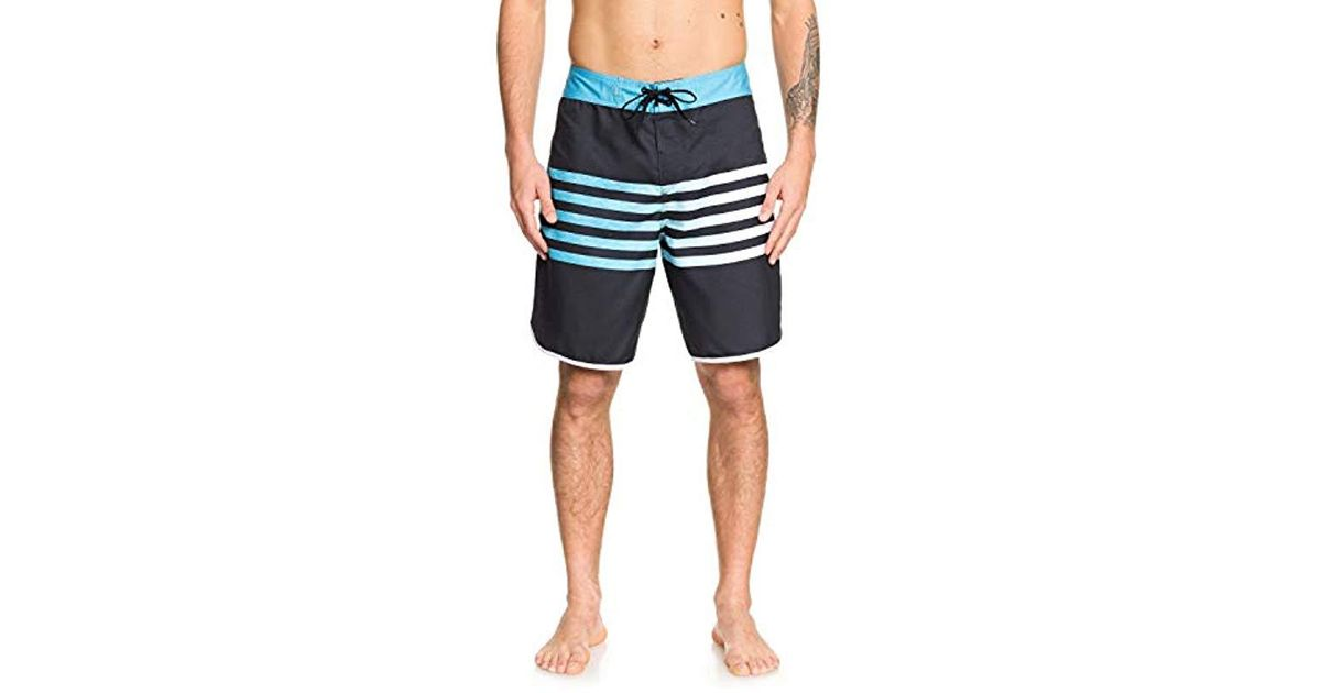 2c16b87a8a Quiksilver Everyday Grass Roots 20 Boardshort Swim Trunk in Black for Men -  Lyst