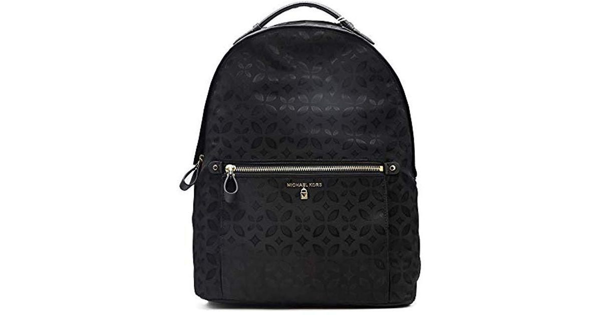 2150645c3c763 Michael Kors Nylon Kelsey Backpack Handbag in Black - Save 23% - Lyst