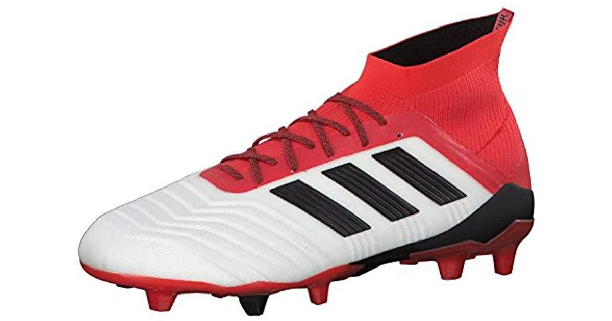 978216bb5090 adidas Predator 18.1 Fg Footbal Shoes in Red for Men - Lyst
