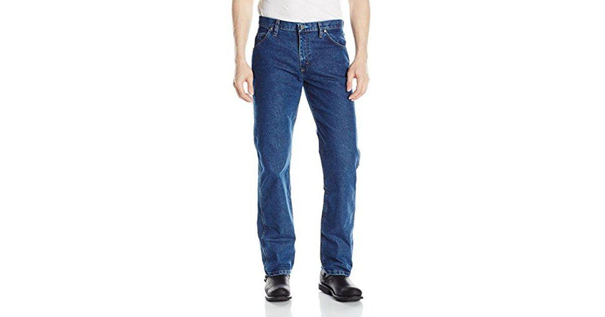 4533dc4f Lyst - Wrangler Motorcycle Cool Vantage Regular Fit Jean in Blue for Men