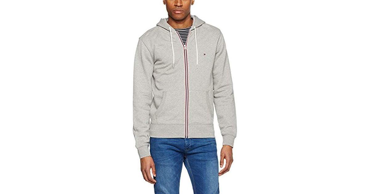 4e344d868d511 Tommy Hilfiger Basic Hdd Z-thru L s Vf Sweatshirt in Gray for Men - Lyst
