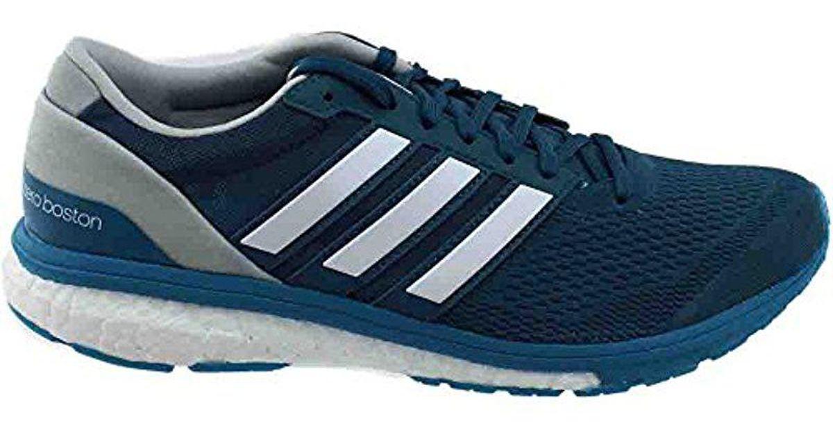 best authentic 11638 c82d5 Lyst - Adidas Adizero Boston 6 M Running Shoe in Blue for Men