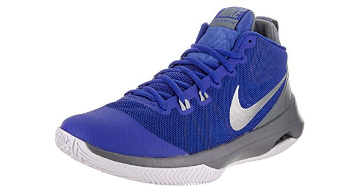 066f6f994d30e Nike - Blue Air Versitile Nubuck Basketball Shoes for Men - Lyst