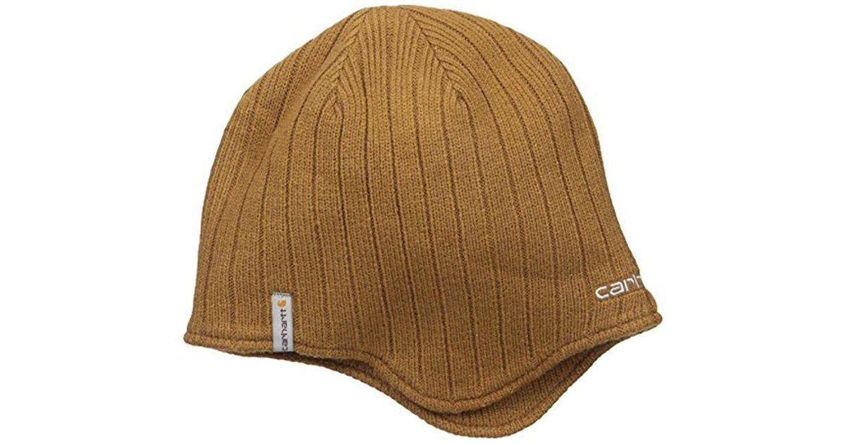 772ca868ca7 Lyst - Carhartt Fire Steel Earflap Hat in Brown for Men