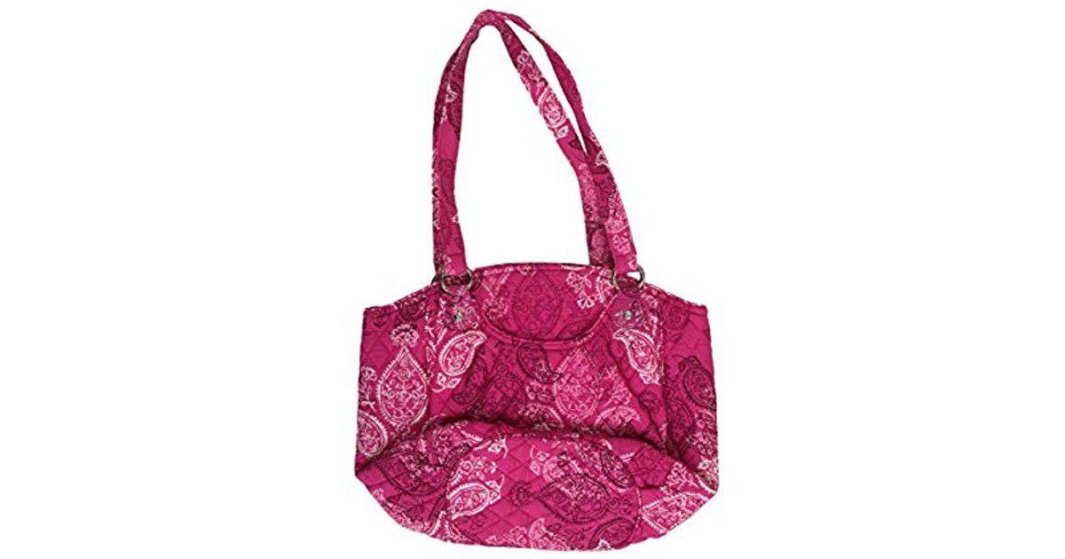 ebc1277fda6 Lyst - Vera Bradley Glenna Shoulder Bag, Signature Cotton