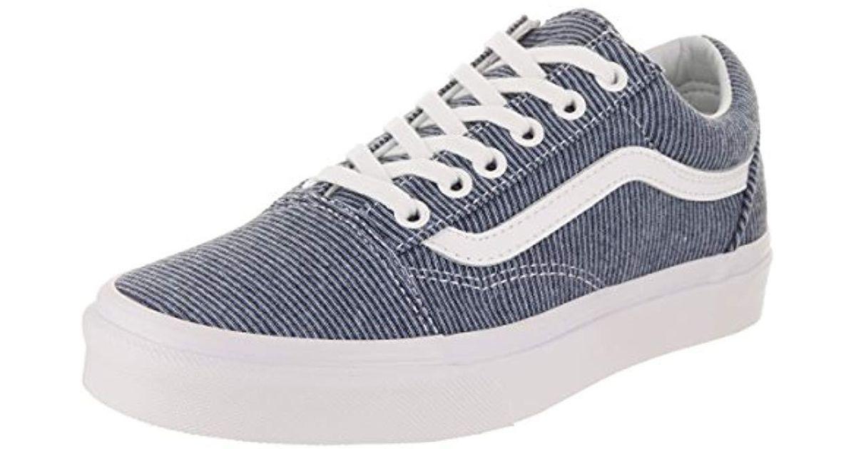 3140bd99c7 Lyst - Vans Unisex Old Skool Classic Skate Shoes in Blue