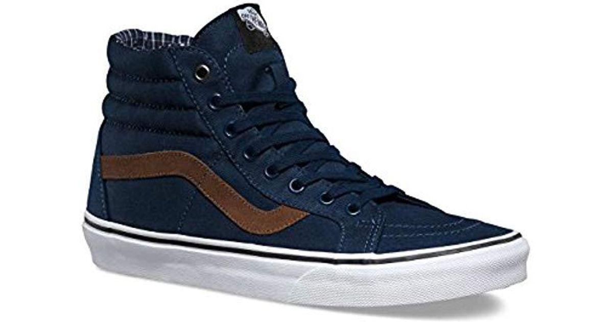 Vans Unisex Adults  Sk8-hi Reissue Hi-top Sneakers in Blue for Men - Lyst cd020b872