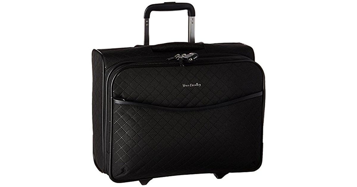 c078a04b2141 Lyst - Vera Bradley Iconic Rolling Work Bag