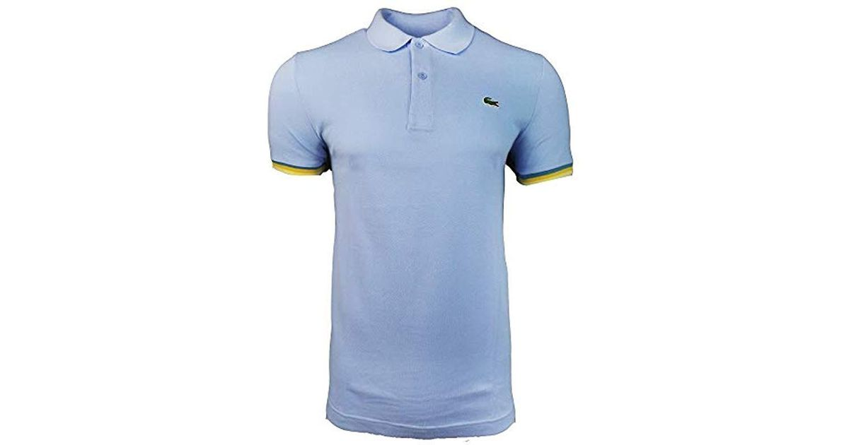 5bf64d31b Lacoste Polo Shirt in Blue for Men - Lyst