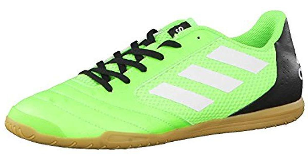 quality design 8d912 a7c80 adidas   s Ace 17.4 Sala Footbal Shoes in Green for Men - Lyst