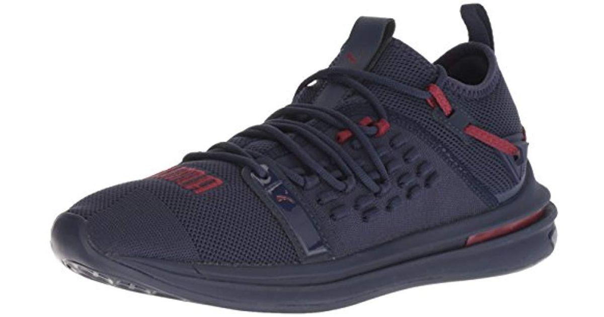 Lyst - PUMA Ignite Limitless Sr Fusefit Sneaker in Blue for Men 3cbe6fb7b