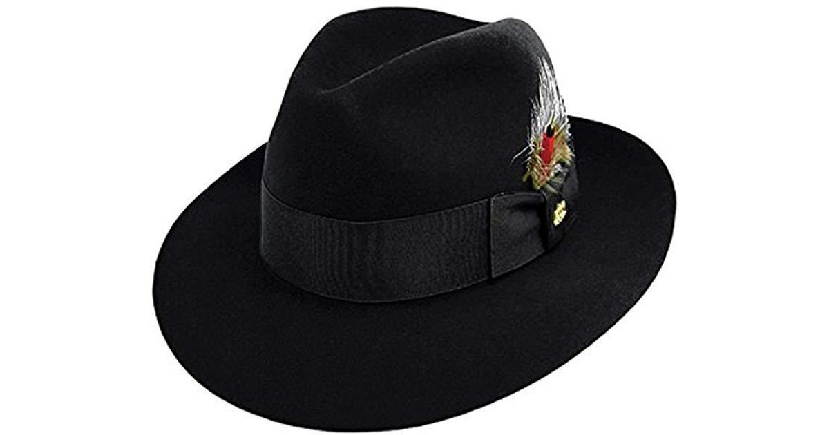 0a3743c620dc6 Lyst - Stetson Pinnacle Excellent Quality Fur Felt Hat in Black for Men