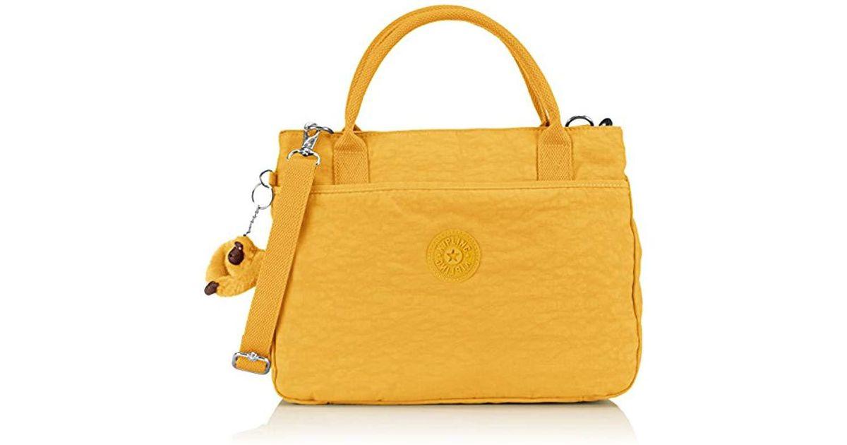 eee0363e3b Kipling S Caralisa Shoulder Bag in Yellow - Lyst