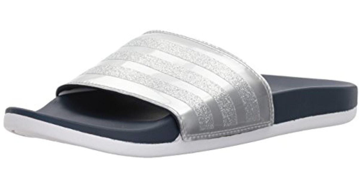 e77d99ed1 Lyst - adidas Adilette Cf+ Explorer W Sport Sandal in Gray