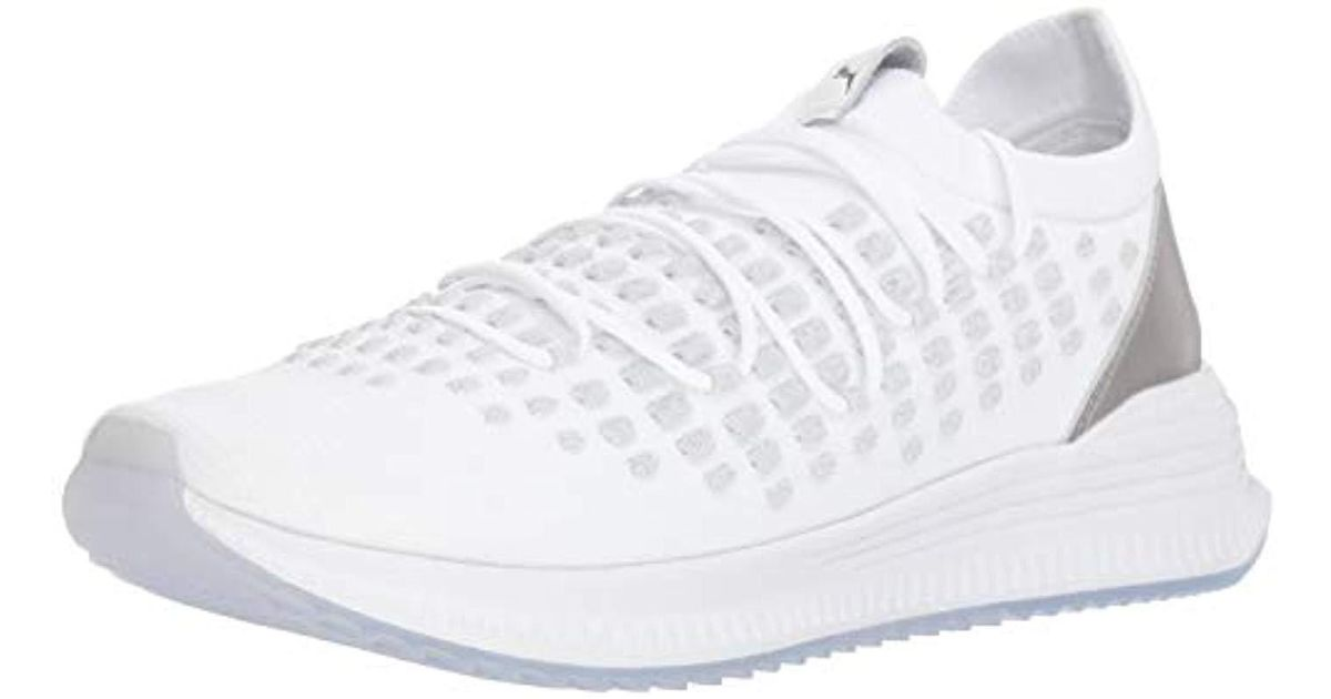 5be72f2e47df Lyst - PUMA Avid Fusefit Sneaker in White for Men - Save 55%