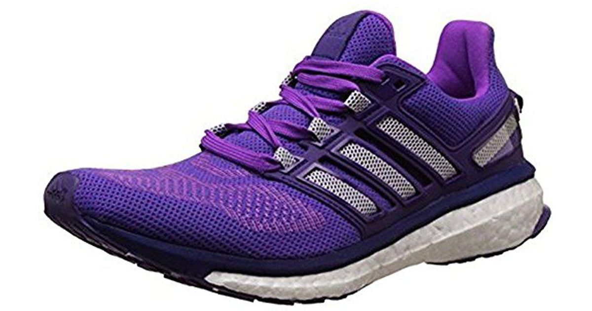 174eb7a4d85db Adidas - Purple Energy Boost 3 Running Shoes, Lightweight, Comfortable And  Flexible Fit - Lyst