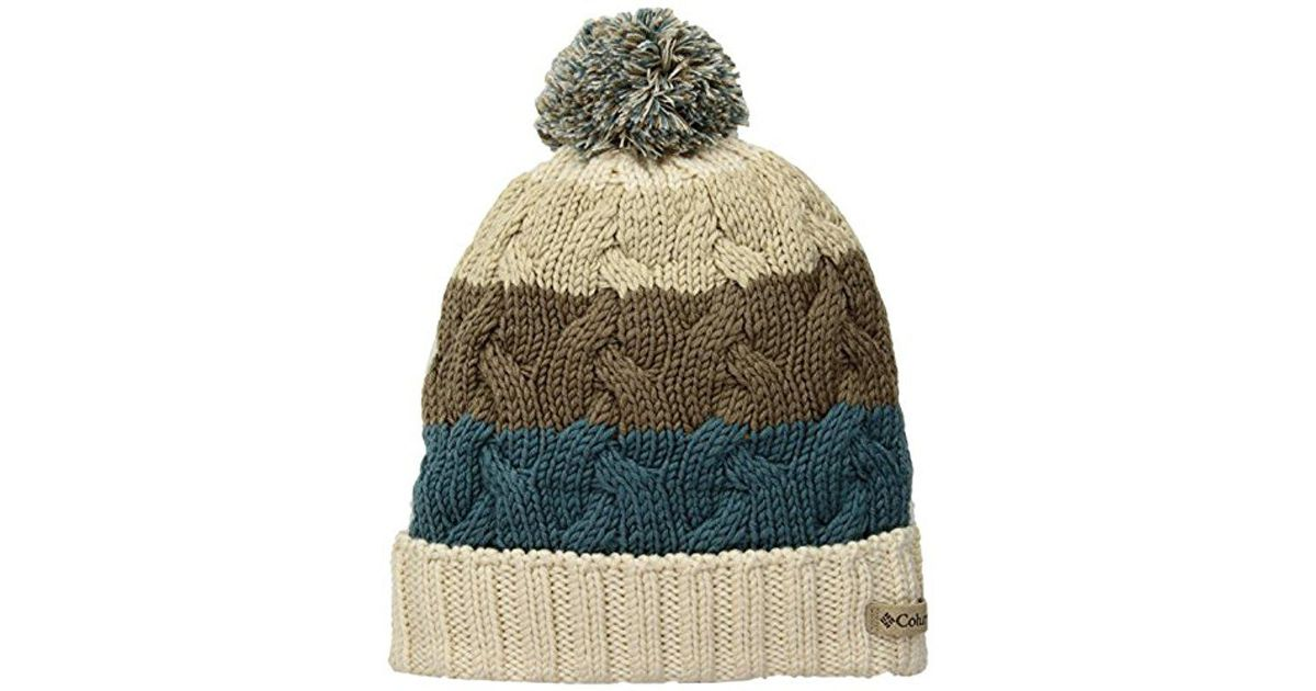 Lyst - Columbia Carson Pass Beanie in Green 6f270d8d1050