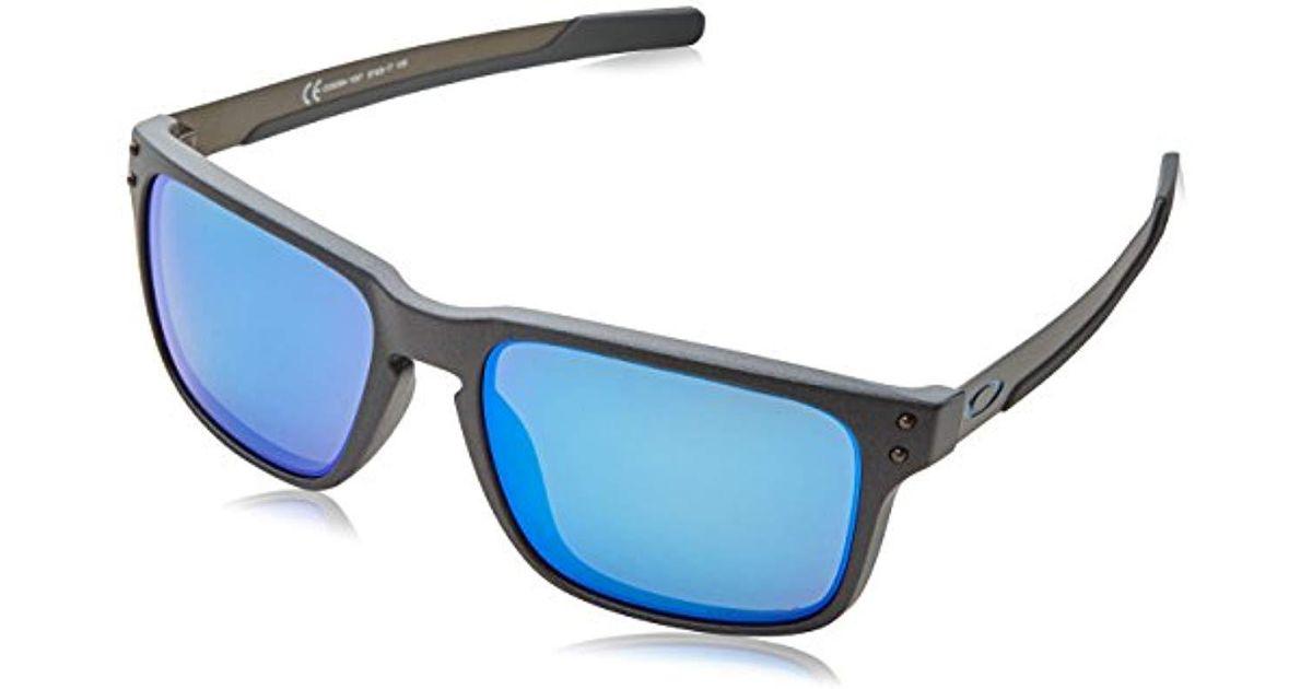 79de3d11d87 Oakley Mens Oo9384 57 Holbrook Mix Sunglasses 57mm in Blue for Men - Lyst