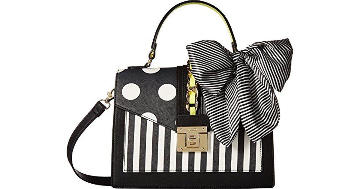 f17ecceef15 ALDO Glendaa Top Handle Handbag in Black - Lyst