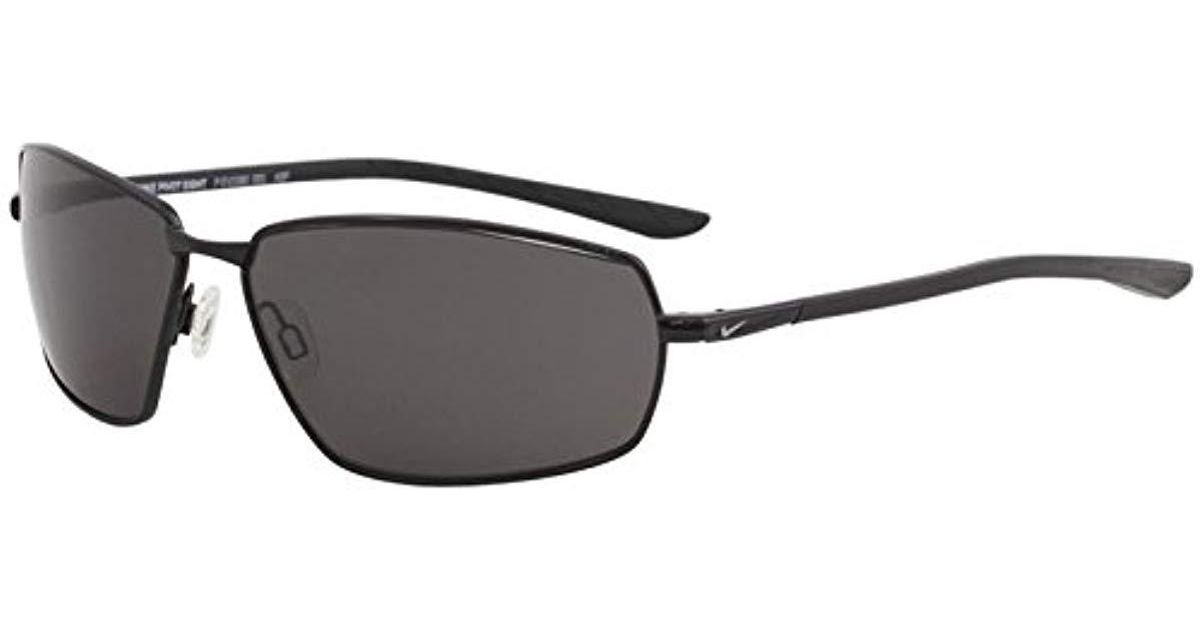 6173cbbb412b0 Lyst - Nike Pivot Eight P Polarized Rectangular Sunglasses