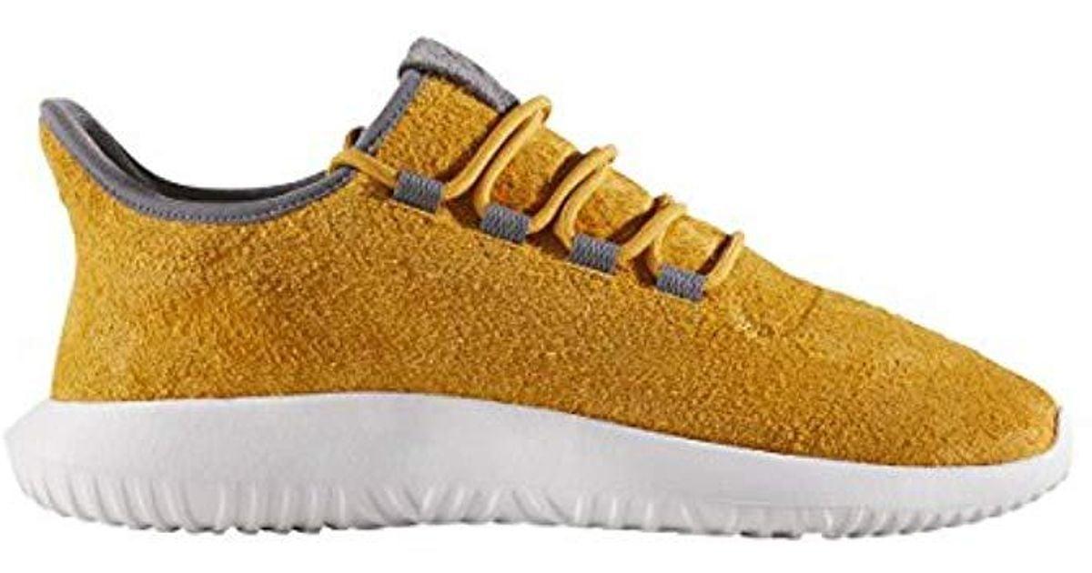 1c28f7b5fe69 Lyst - adidas Originals Tubular Shadow Sneaker in Yellow for Men