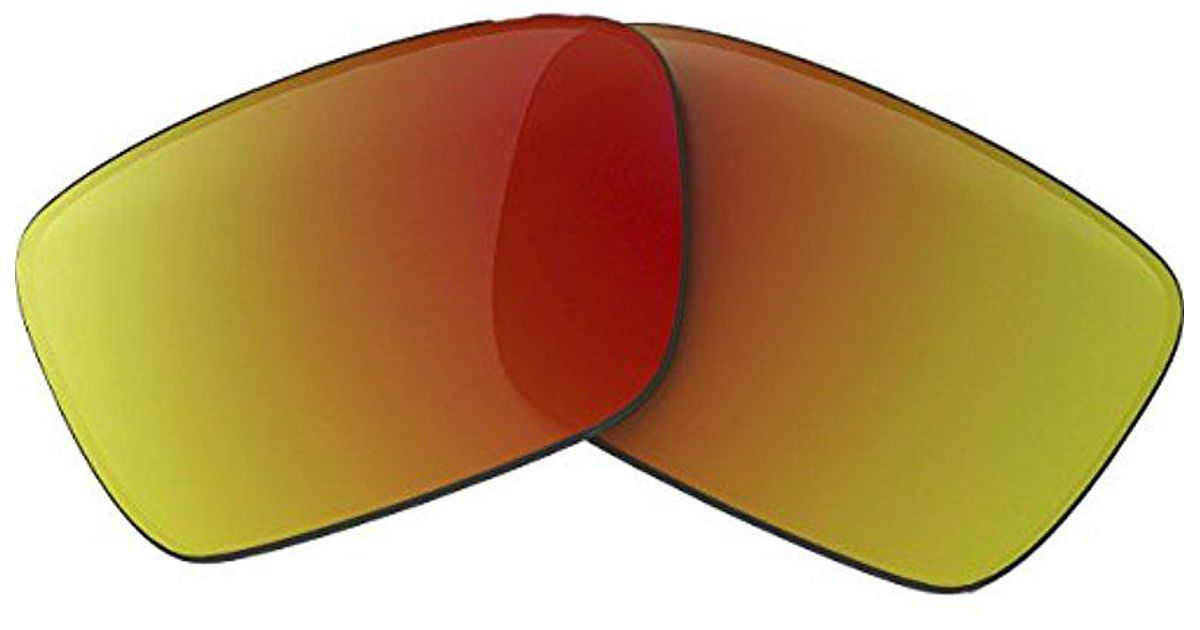 4eed0691b2 Lyst - Oakley Fuel Cell 16-95 Iridium Replacement Sunglasses Lenses for Men