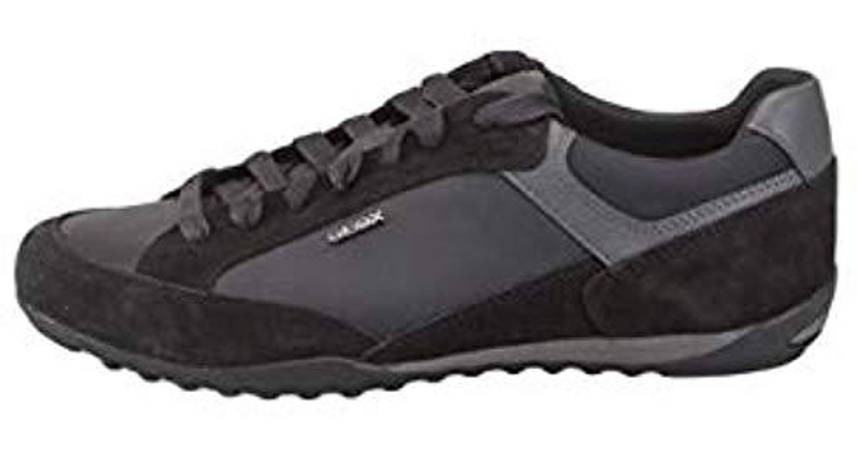 Top Lyst Men A Low Sneakers U Wells For Black Geox If7Yyvgb6