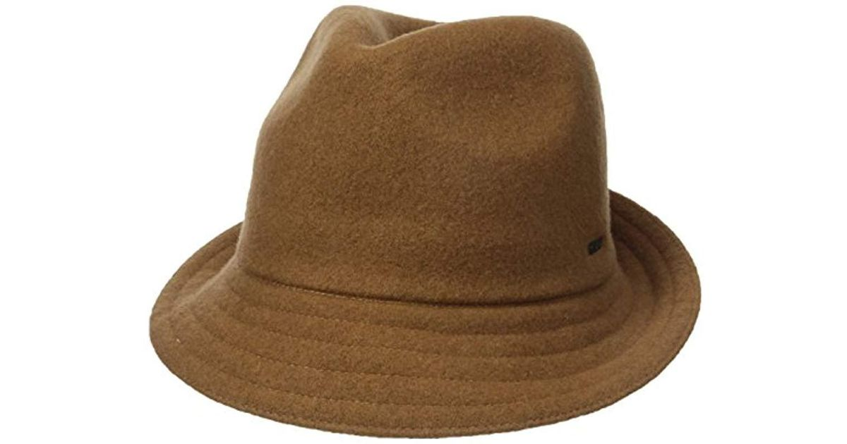Lyst - Kangol Wool Arnold Hat in Brown for Men fb79c3d41273