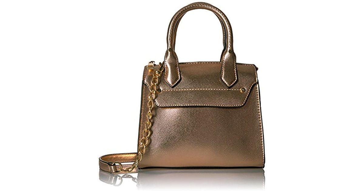 8c4a88fb78f ALDO Gadien Top Handle Handbag - Lyst