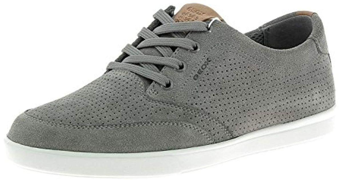 Geox Gray U Walee B Low top Sneakers for Men Lyst