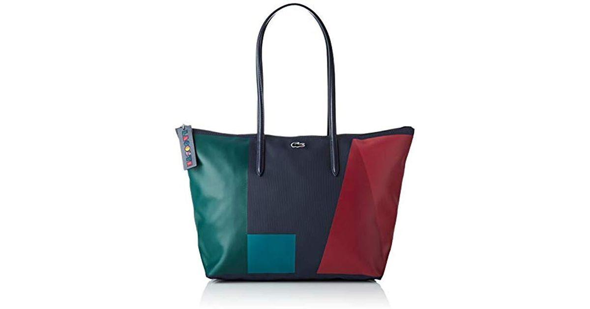 Colore Grande Multicolor Borsa Lacoste Blu Shopping Ybqaxsf Lyst rzq4rOw