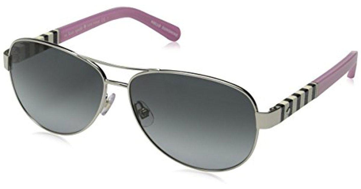708a4aebe665f Kate Spade Kate Spade Dalia Aviator Sunglasses - Save 6% - Lyst