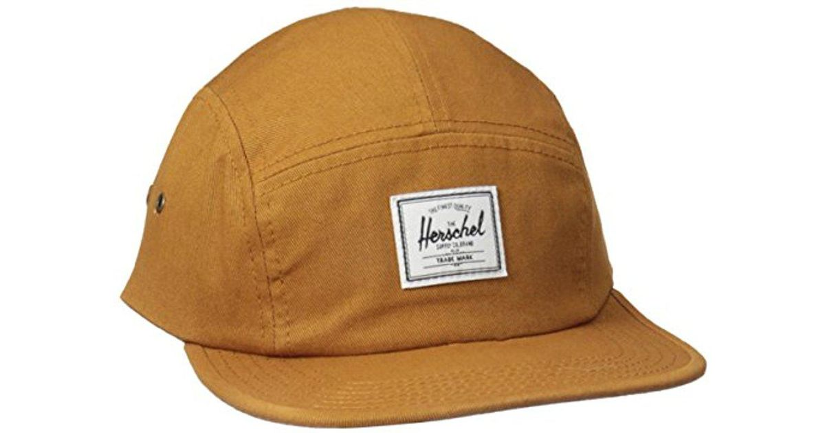 02737f9e565 Lyst - Herschel Supply Co. Glendale C Cotton Five Panel Hat for Men