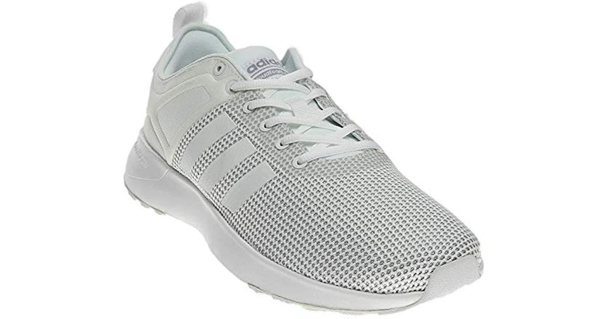 e2d0d234577a88 Lyst - adidas Neo Cloudfoam Super Racer Running Shoe in White for Men