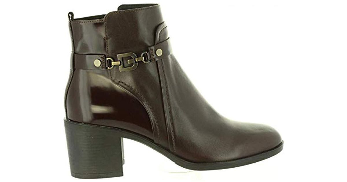 1dc218dd618f0 Geox  s D Glynna B Ankle Boots in Brown - Lyst