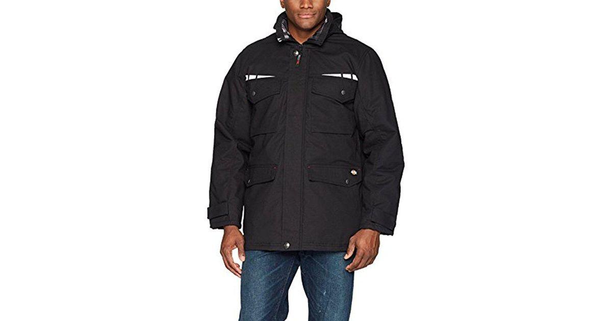 5e7d01d0e6e55 Dickies Pro Cordura Field Coat in Black for Men - Save 4% - Lyst
