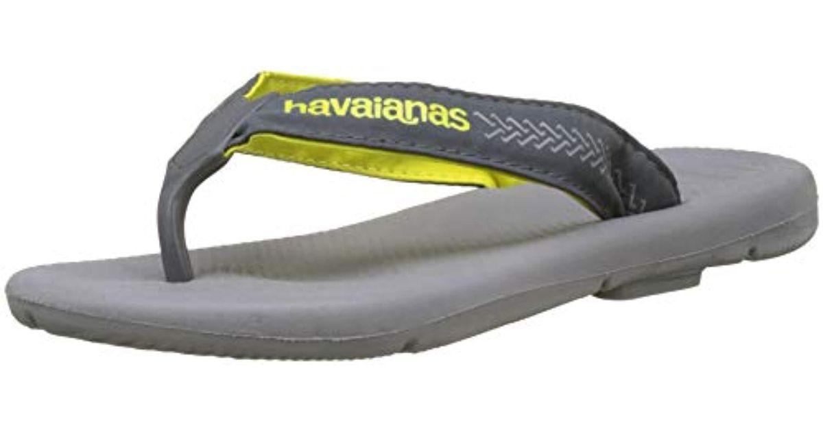 7a341508c38f7 Havaianas Surf Pro Flip Flops in Gray for Men - Lyst