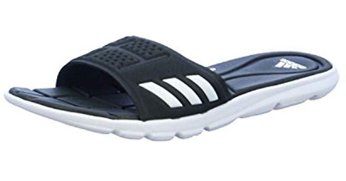 514eeb22f552 Adidas   s Adipure Cloudfoam Beach   Pool Shoes in Black - Lyst